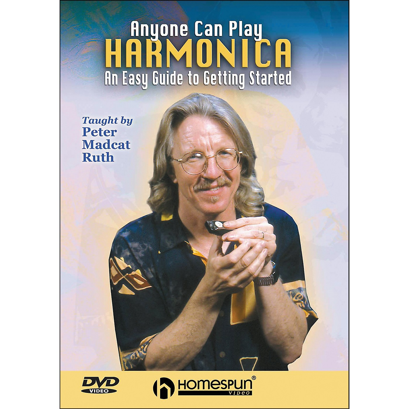 Homespun Anyone Can Play Harmonica: An Easy Guide To Getting Started DVD thumbnail