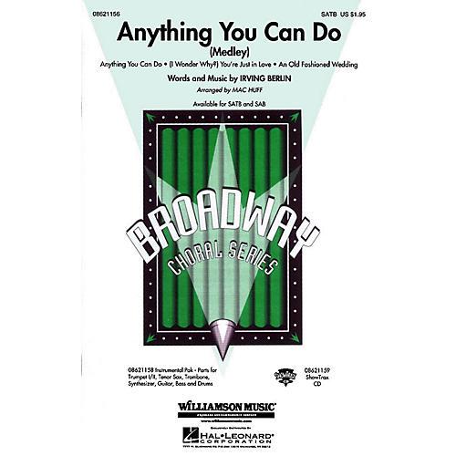 Hal Leonard Anything You Can Do (Medley) SAB arranged by Mac Huff thumbnail
