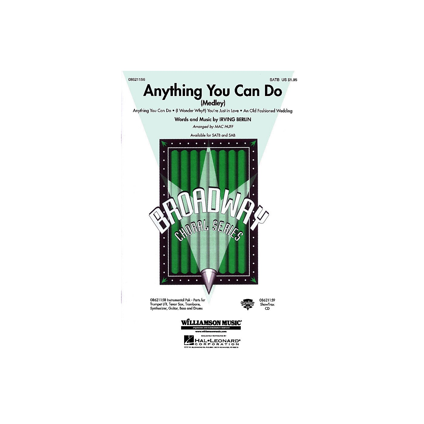 Hal Leonard Anything You Can Do (Medley) ShowTrax CD Arranged by Mac Huff thumbnail