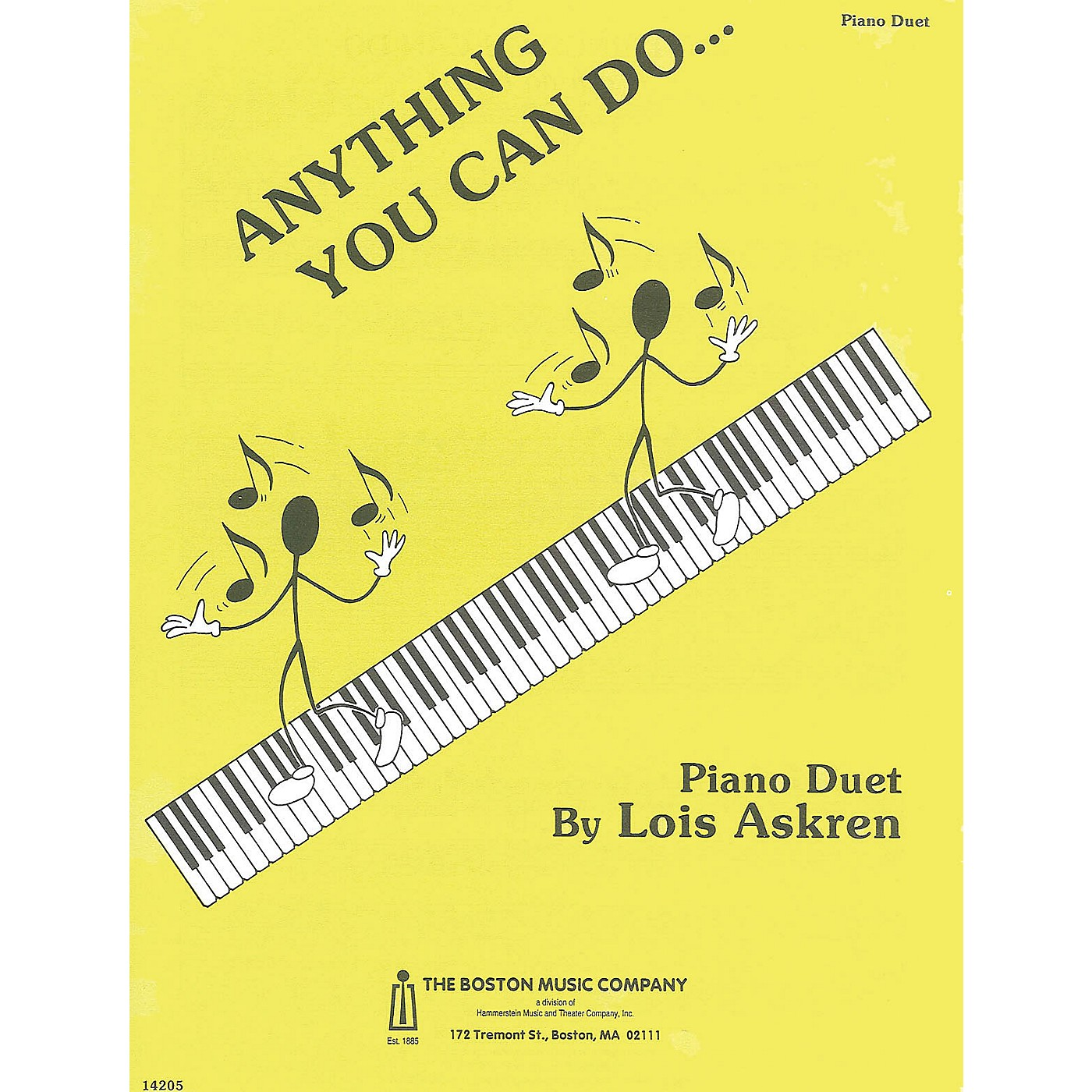 Music Sales Anything You Can Do Music Sales America Series thumbnail