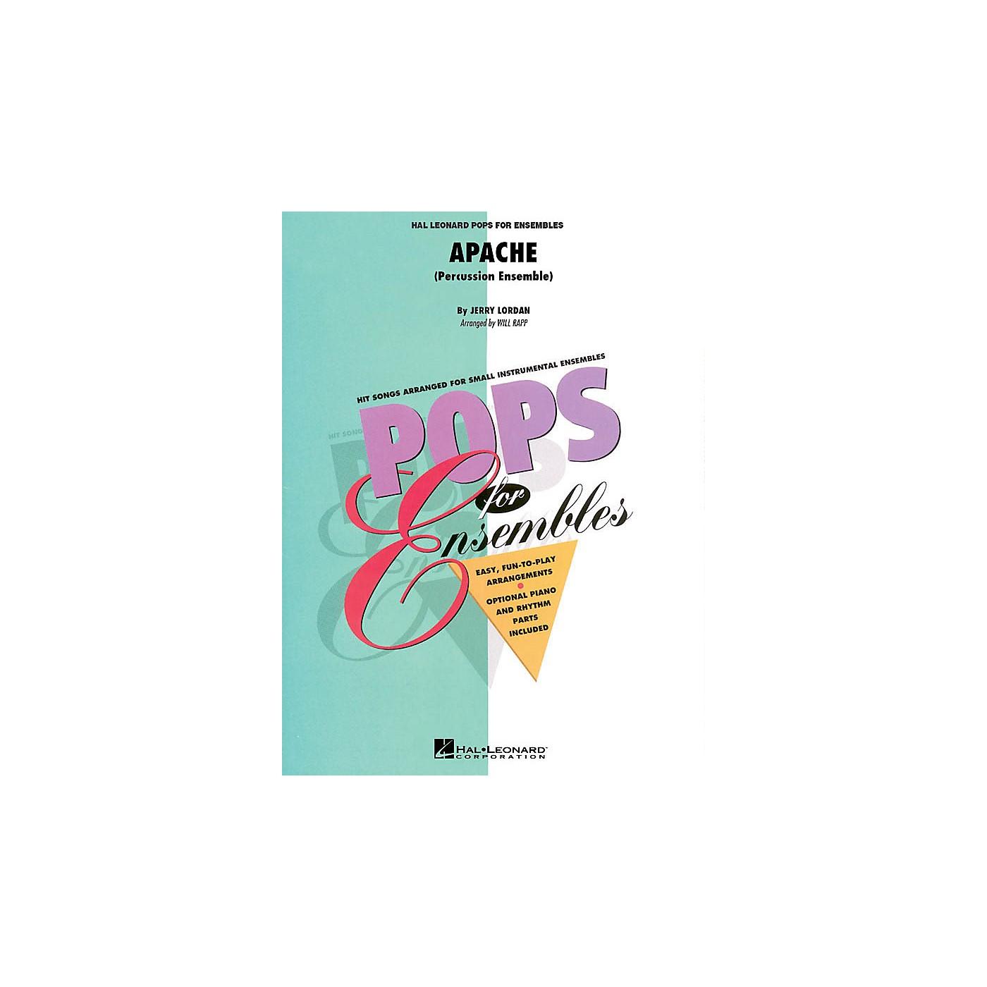 Hal Leonard Apache (Percussion Ensemble) Concert Band Level 2.5 Arranged by Will Rapp thumbnail