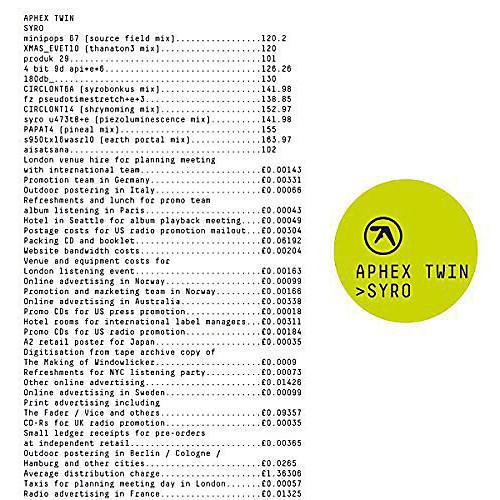 Alliance Aphex Twin - Syro thumbnail