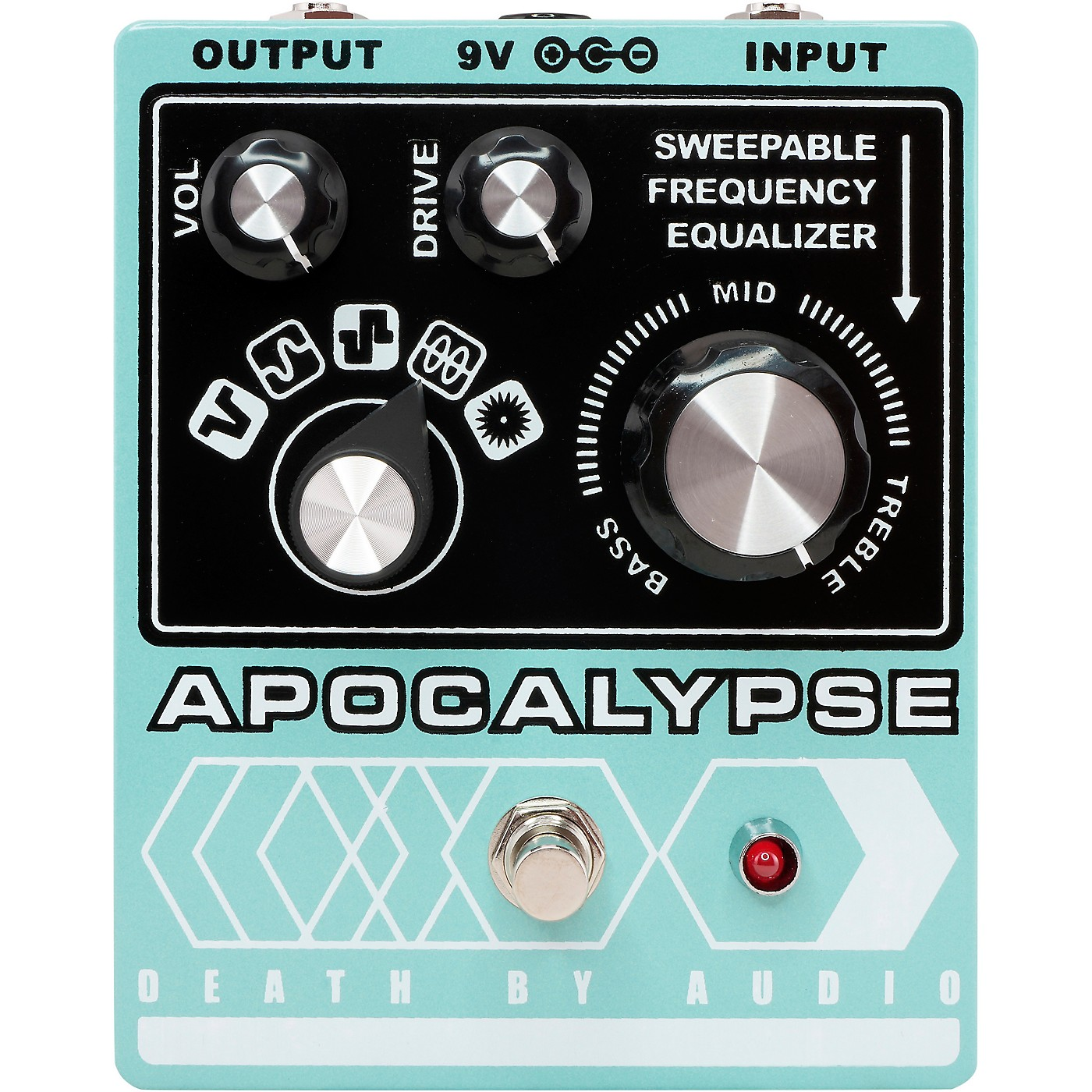 Death By Audio Apocalypse Fuzz Effects Pedal thumbnail