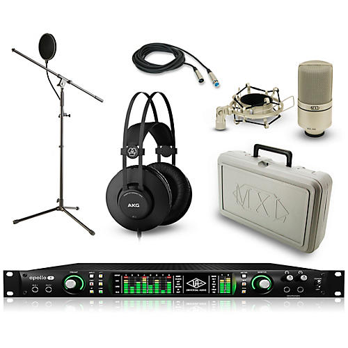 Universal Audio Apollo 8 Thunderbolt Duo, K52 and 990 Package thumbnail