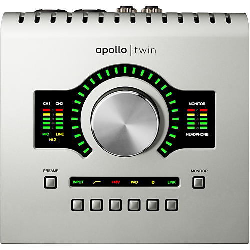 Universal Audio Apollo Twin DUO with Realtime UAD Processing thumbnail