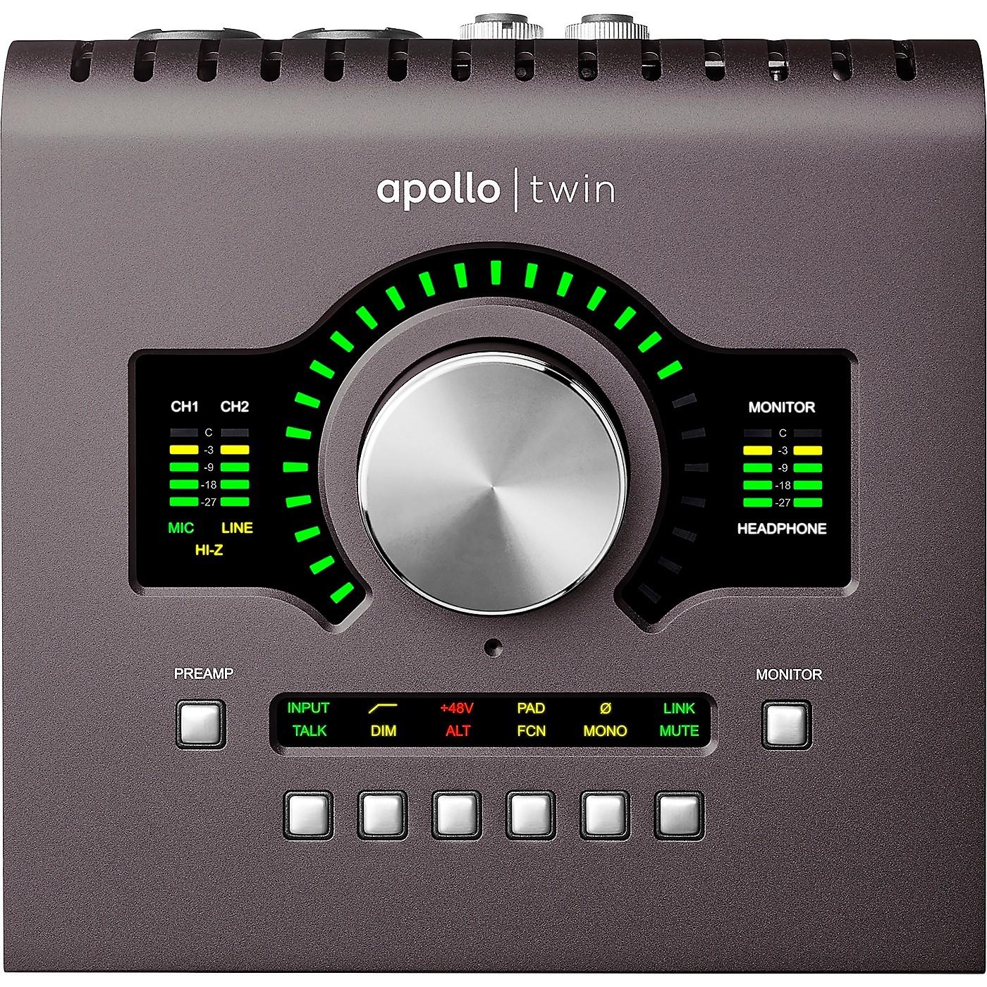 Universal Audio Apollo Twin MKII DUO Heritage Edition Thunderbolt Audio Interface thumbnail