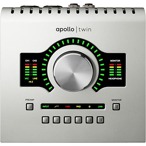 Universal Audio Apollo Twin SOLO with Realtime UAD Processing thumbnail