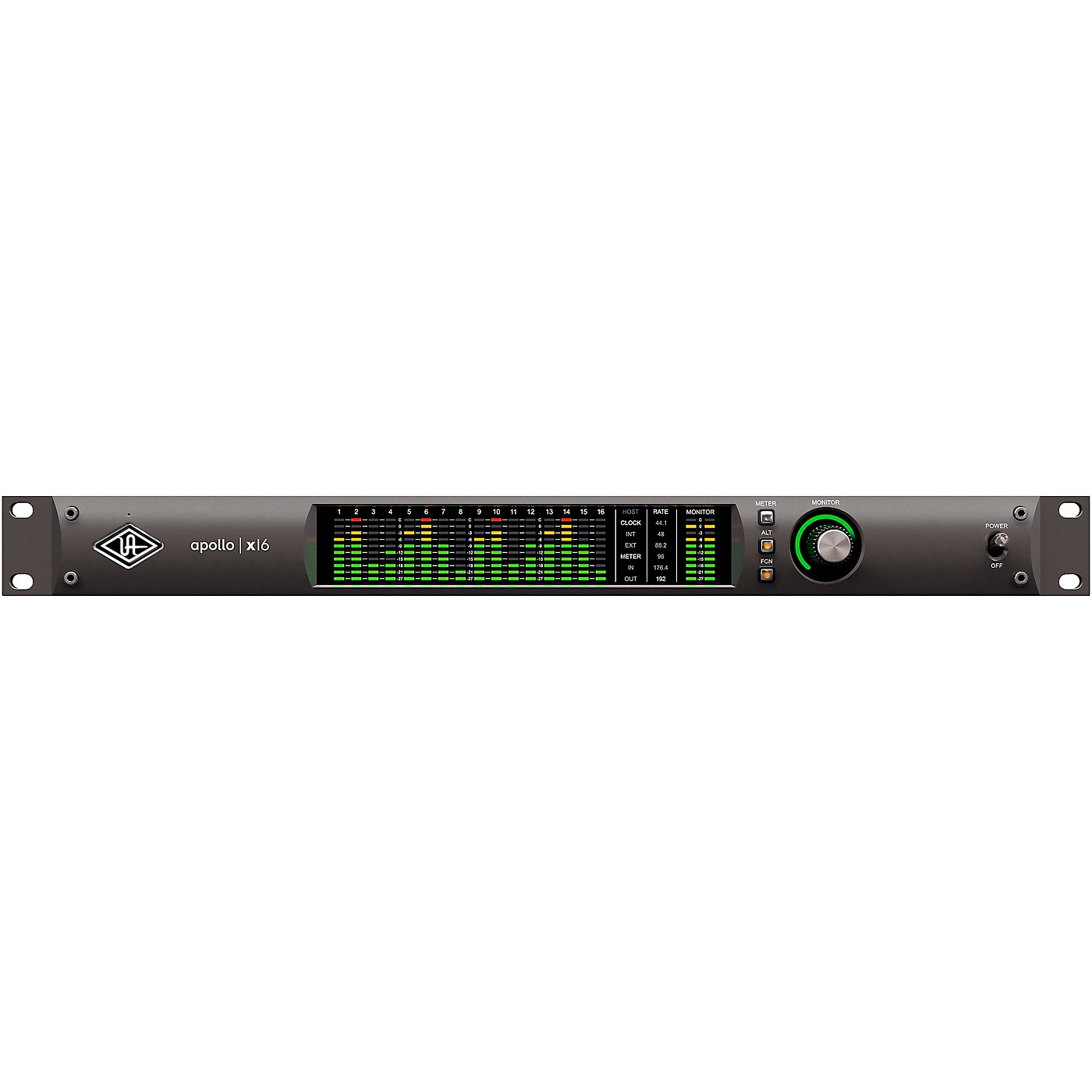 Universal Audio Apollo X16 Heritage Edition 16-Channel Thunderbolt Audio Interface With UAD DSP thumbnail