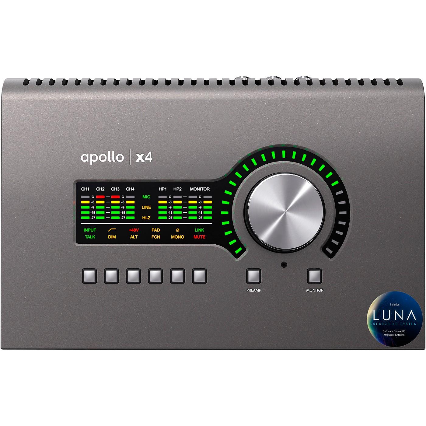 Universal Audio Apollo x4 Thunderbolt 3 Audio Interface thumbnail
