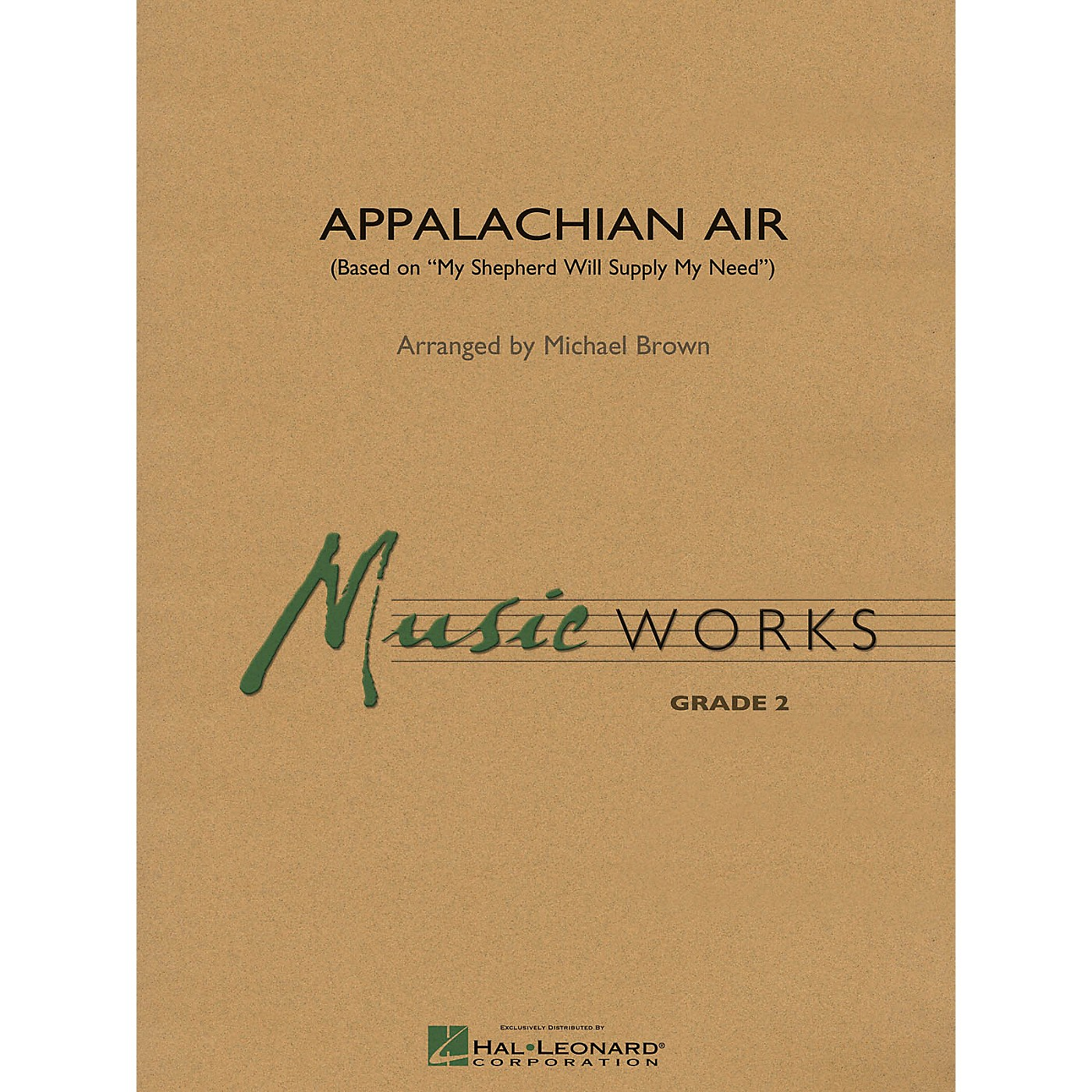 Hal Leonard Appalachian Air (Based on My Shepherd Will Supply My Need) Concert Band Level 2 Arranged by Michael Brown thumbnail