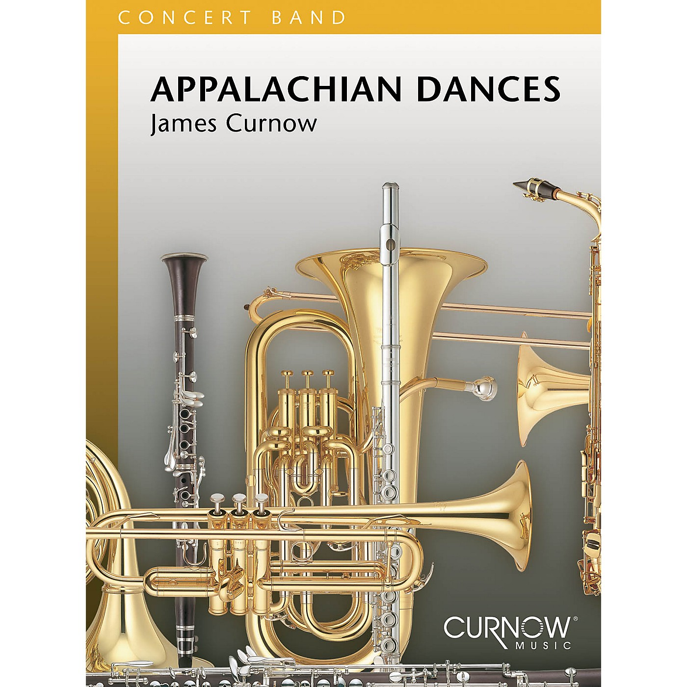 Curnow Music Appalachian Dances (Grade 4 - Score and Parts) Concert Band Level 4 Composed by James Curnow thumbnail