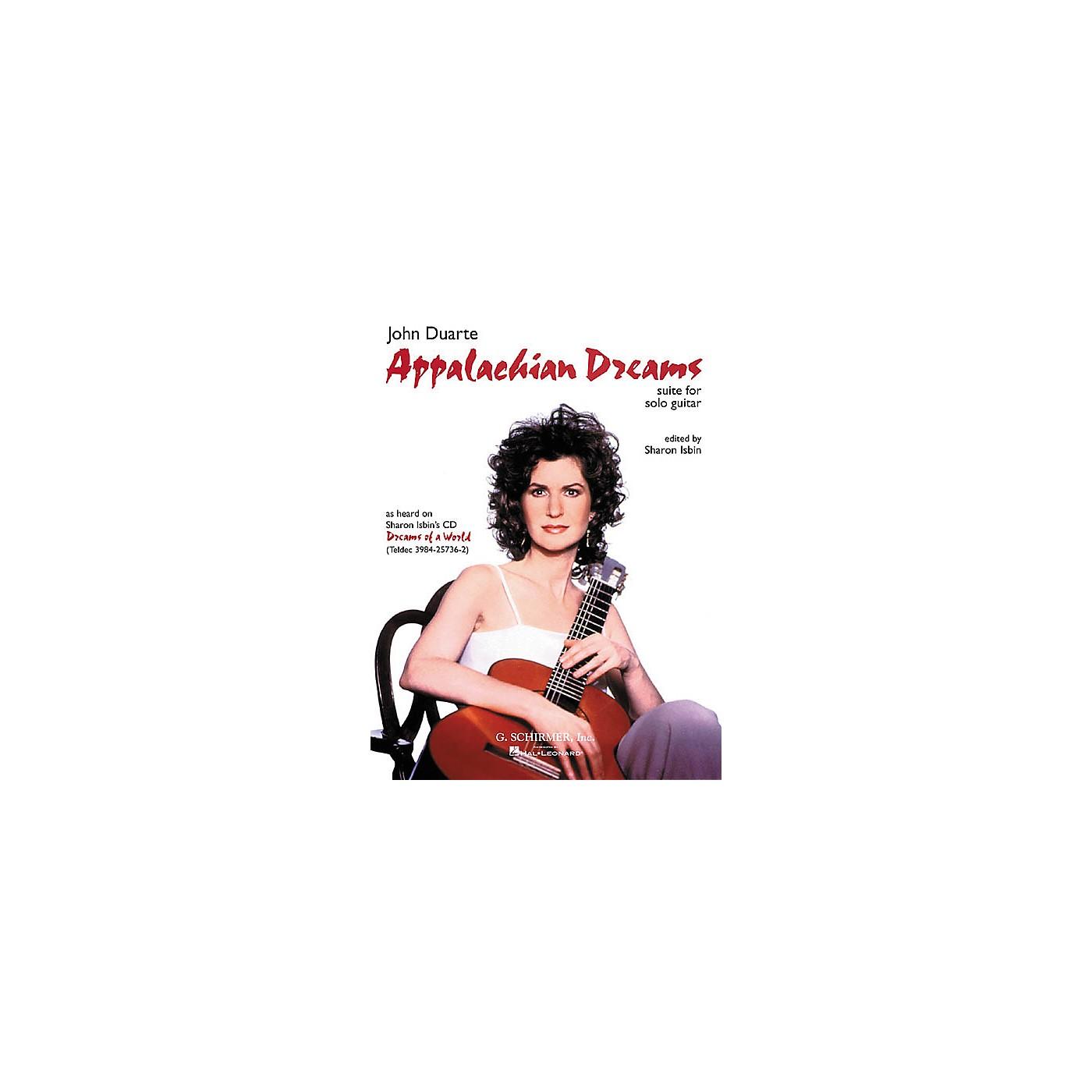 G. Schirmer Appalachian Dreams Classical Guitar Solo by John Duarte thumbnail