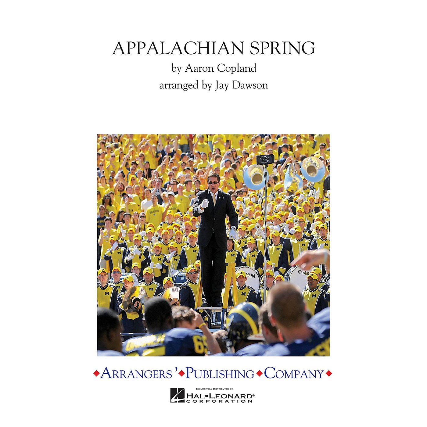 Arrangers Appalachian Spring Episode 2 Marching Band Level 3 Arranged by Jay Dawson thumbnail