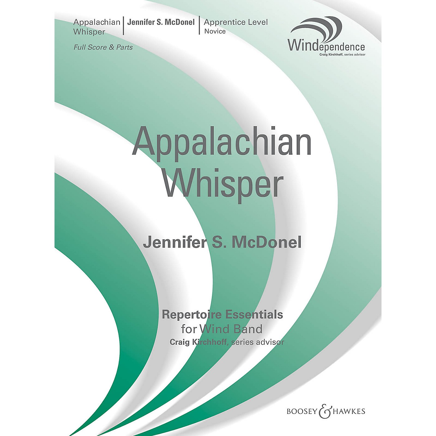 Boosey and Hawkes Appalachian Whisper Concert Band Level 2 Composed by Jennifer S. McDonel thumbnail