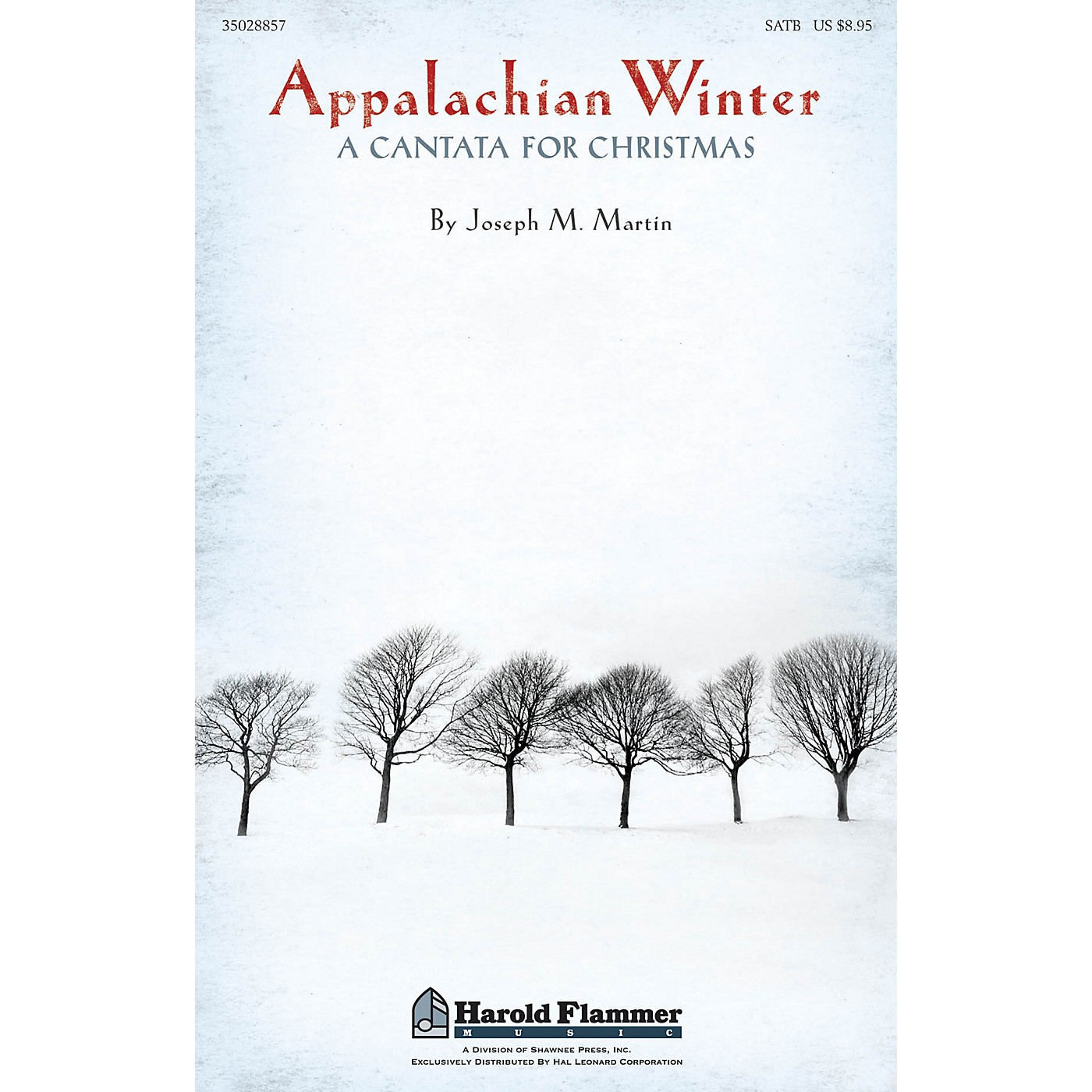 Shawnee Press Appalachian Winter ORCHESTRA ACCOMPANIMENT Composed by Joseph Martin thumbnail