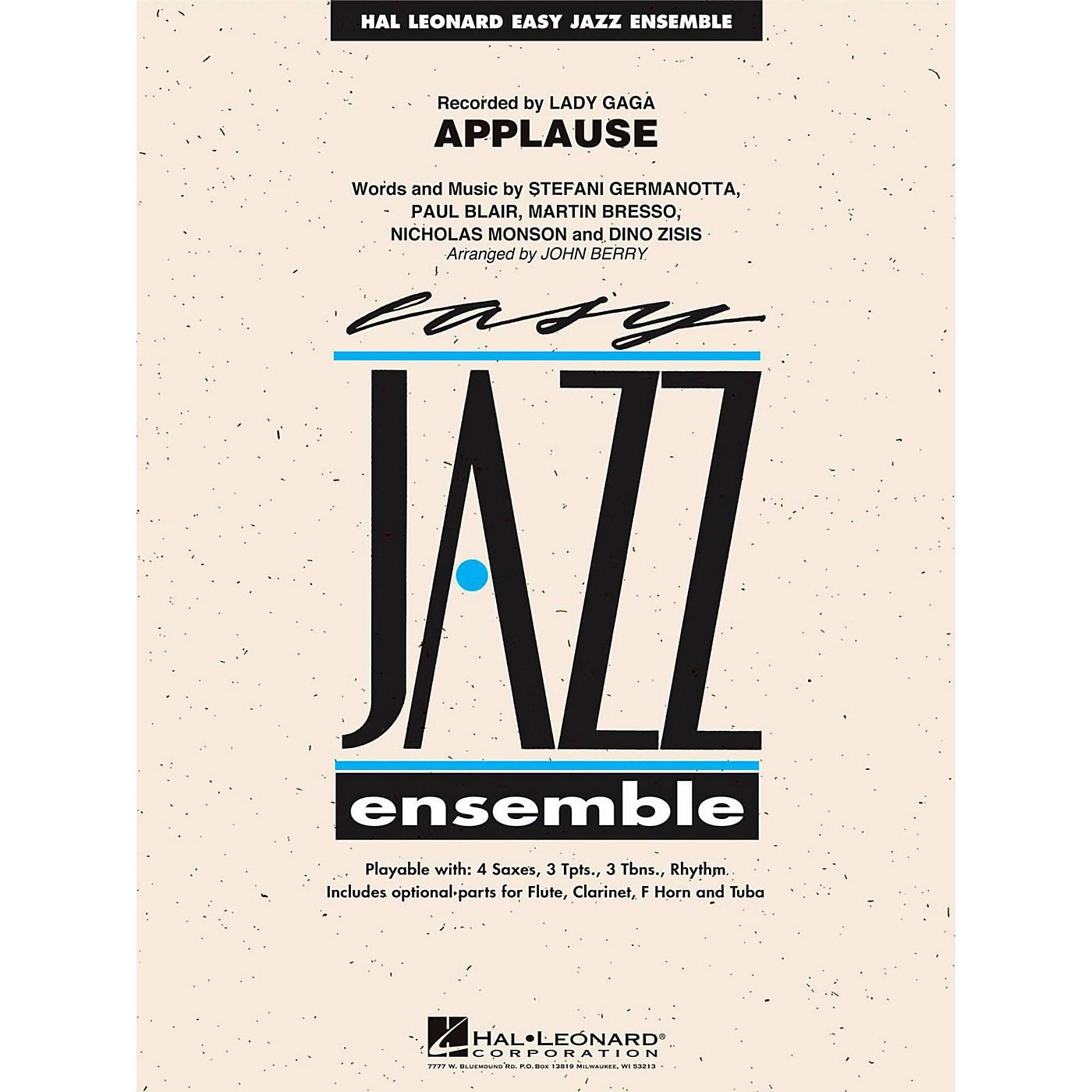 Hal Leonard Applause - Easy Jazz Ensemble Series Level 2 thumbnail