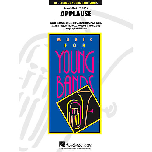 Hal Leonard Applause - Young Concert Band Level 3 thumbnail