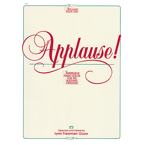 Alfred Applause! Book 1 Intermediate/Early Advanced Piano thumbnail