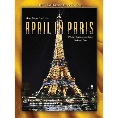 Music Minus One April in Paris & Other Favorite Love Songs Music Minus One Series Softcover with CD thumbnail