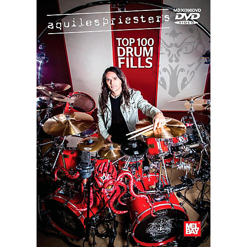 Mel Bay Aquiles Priester's Top 100 Drum Fills DVD thumbnail