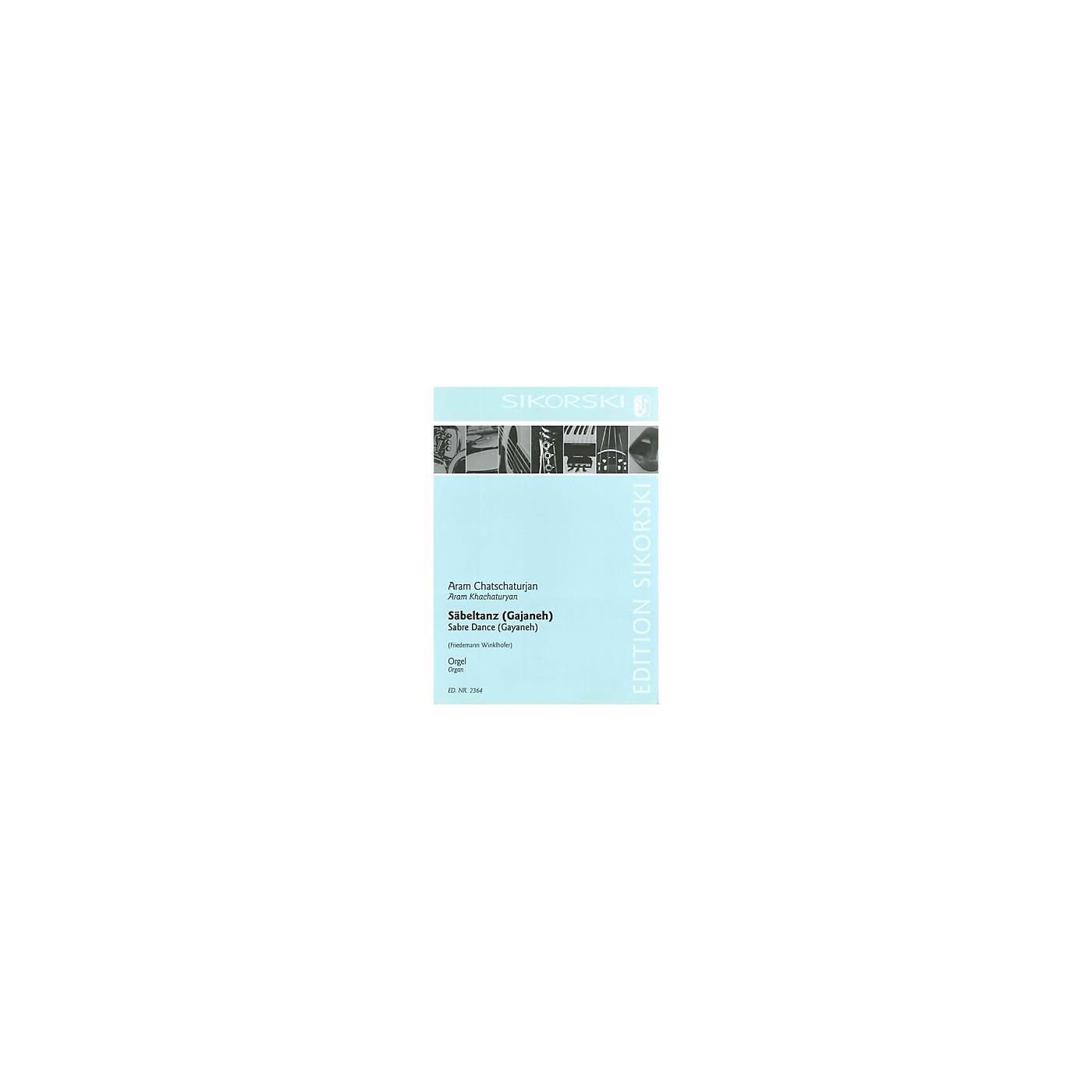 Sikorski Aram Khachaturian - Sabre Dance (from the ballet Gayaneh) Misc Series Edited by Freidemann Winklhofer thumbnail