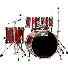 Natal Drums Arcadia UF22 5-Piece Drum Set with 22 in. Bass Drum
