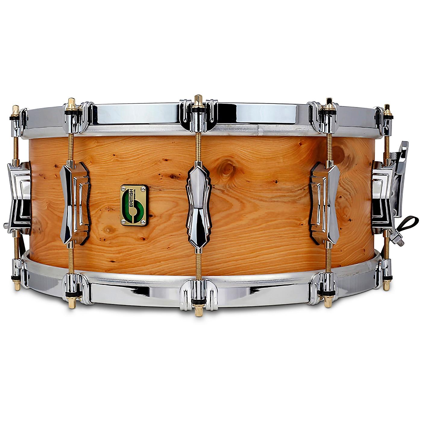 British Drum Co. Archer Snare Drum thumbnail