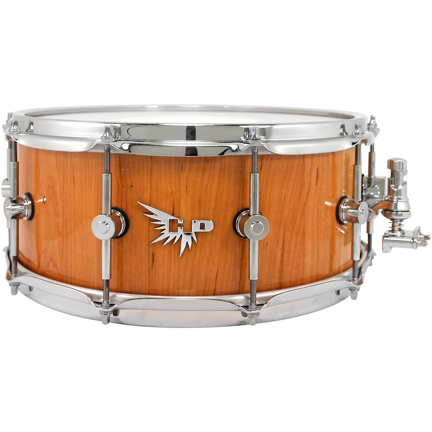 Hendrix Drums Archetype Series American Black Cherry Stave Snare Drum thumbnail