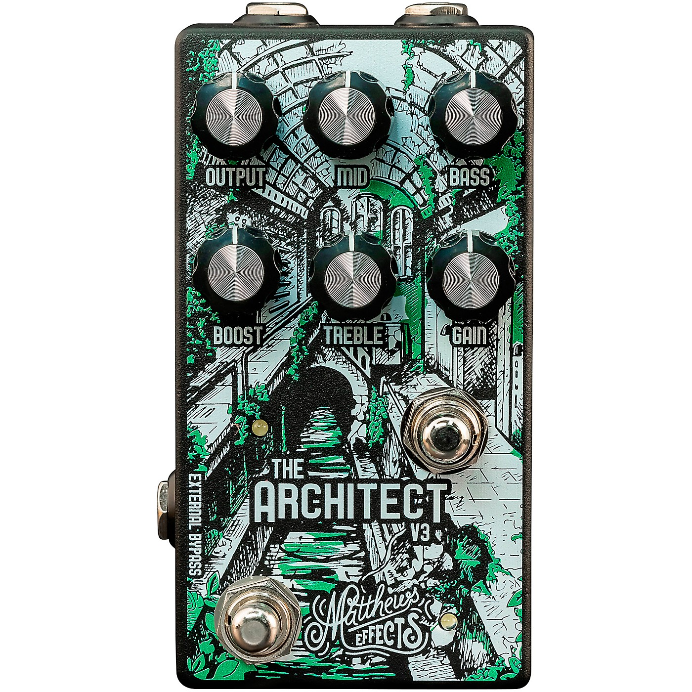 Matthews Effects Architect V3 Overdrive and Boost Effects Pedal thumbnail