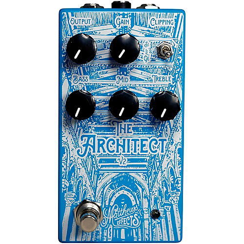 Matthews Effects Architect v2 Foundational Overdrive Effects Pedal thumbnail