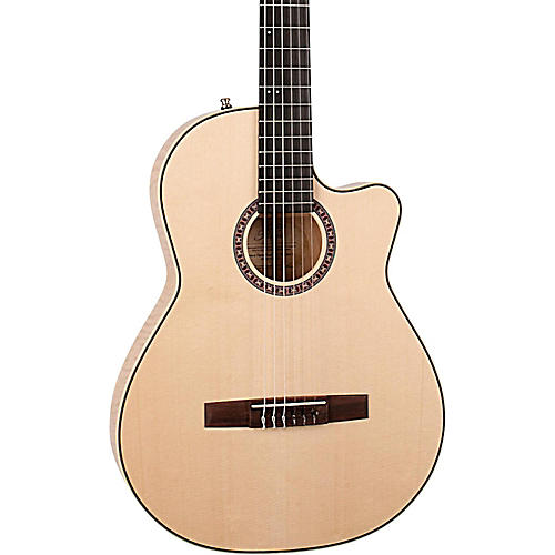 La Patrie Arena Flame Maple CW Crescent II Acoustic-Electric Guitar thumbnail