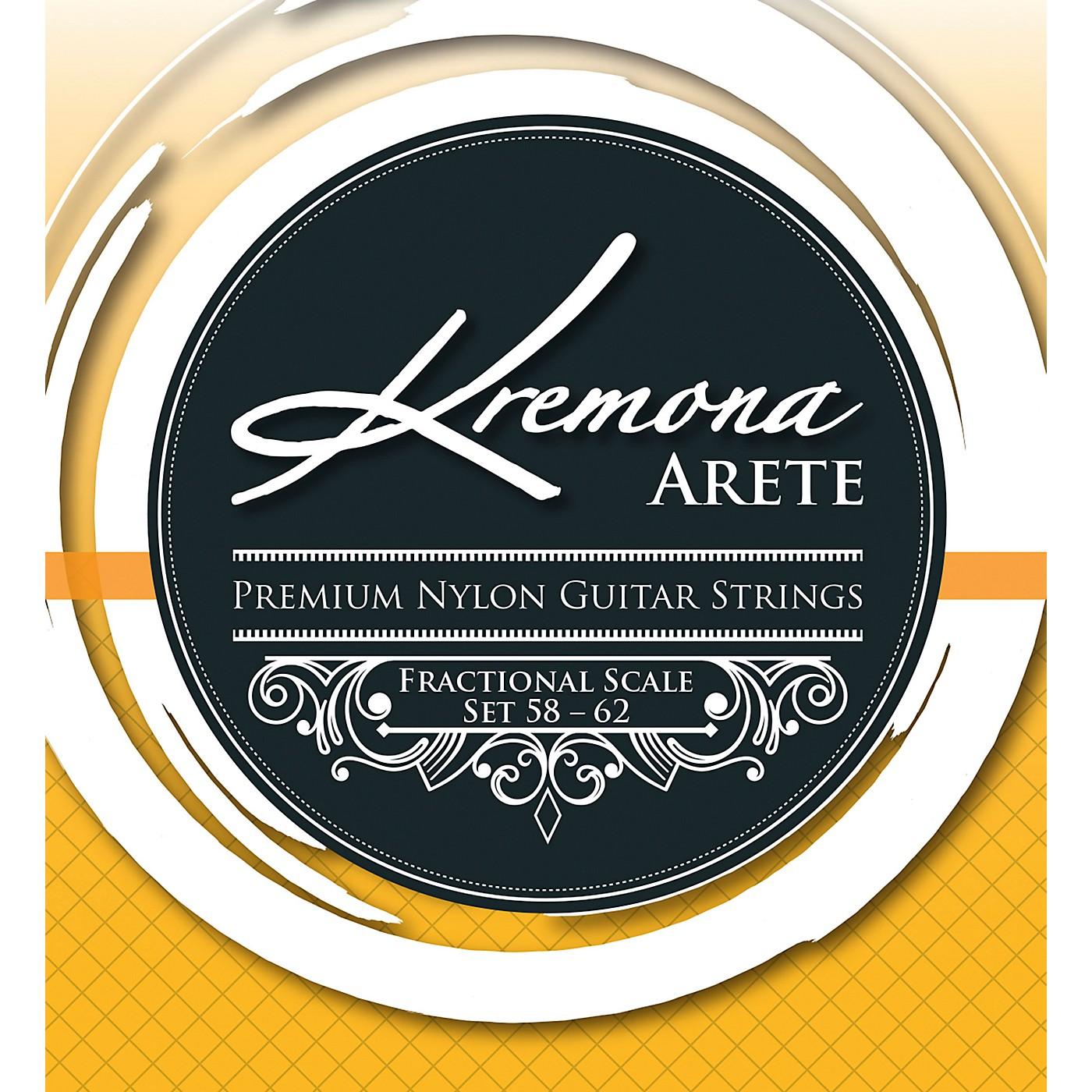 Kremona Arete Premium Nylon Guitar Strings Fractional Scale Set 58-62 thumbnail