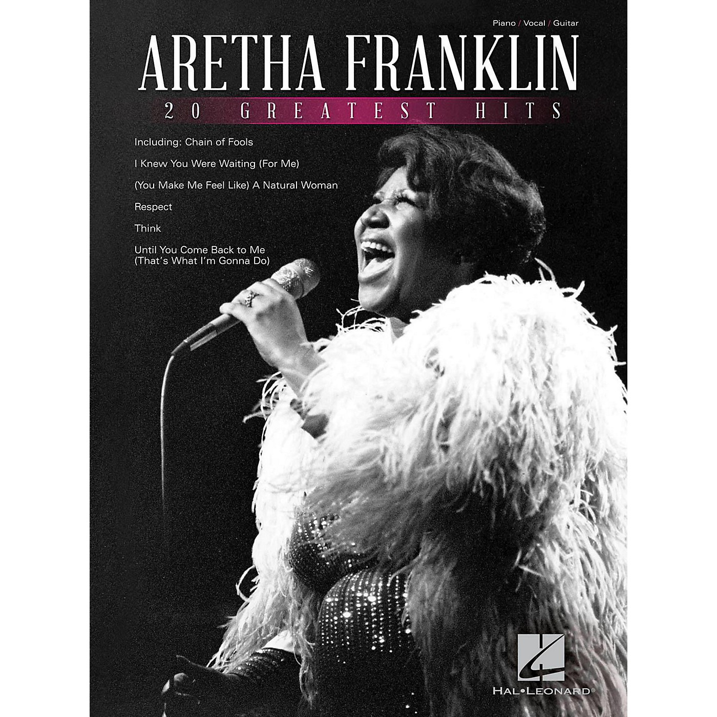 Hal Leonard Aretha Franklin 20 Greatest Hits thumbnail