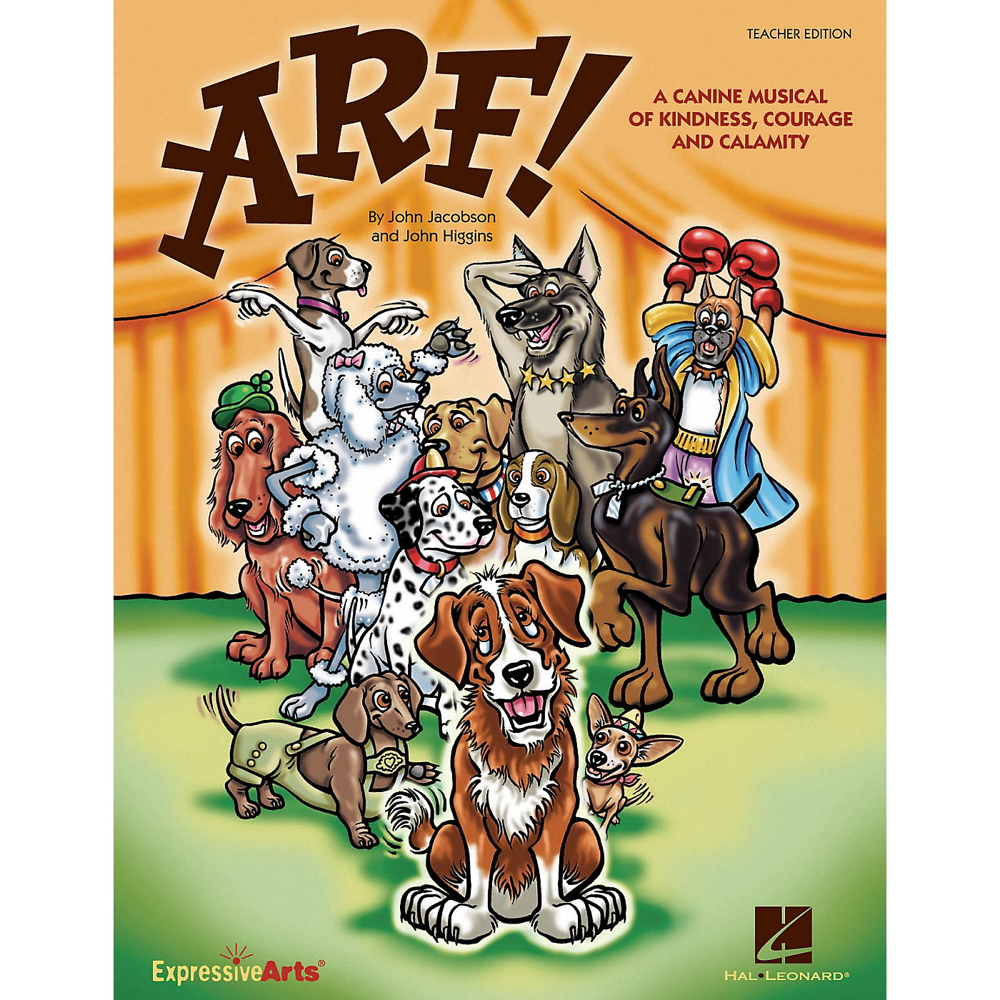 Hal Leonard Arf! (A Canine Musical of Kindness, Courage and Calamity) CLASSRM KIT Composed by John Higgins thumbnail