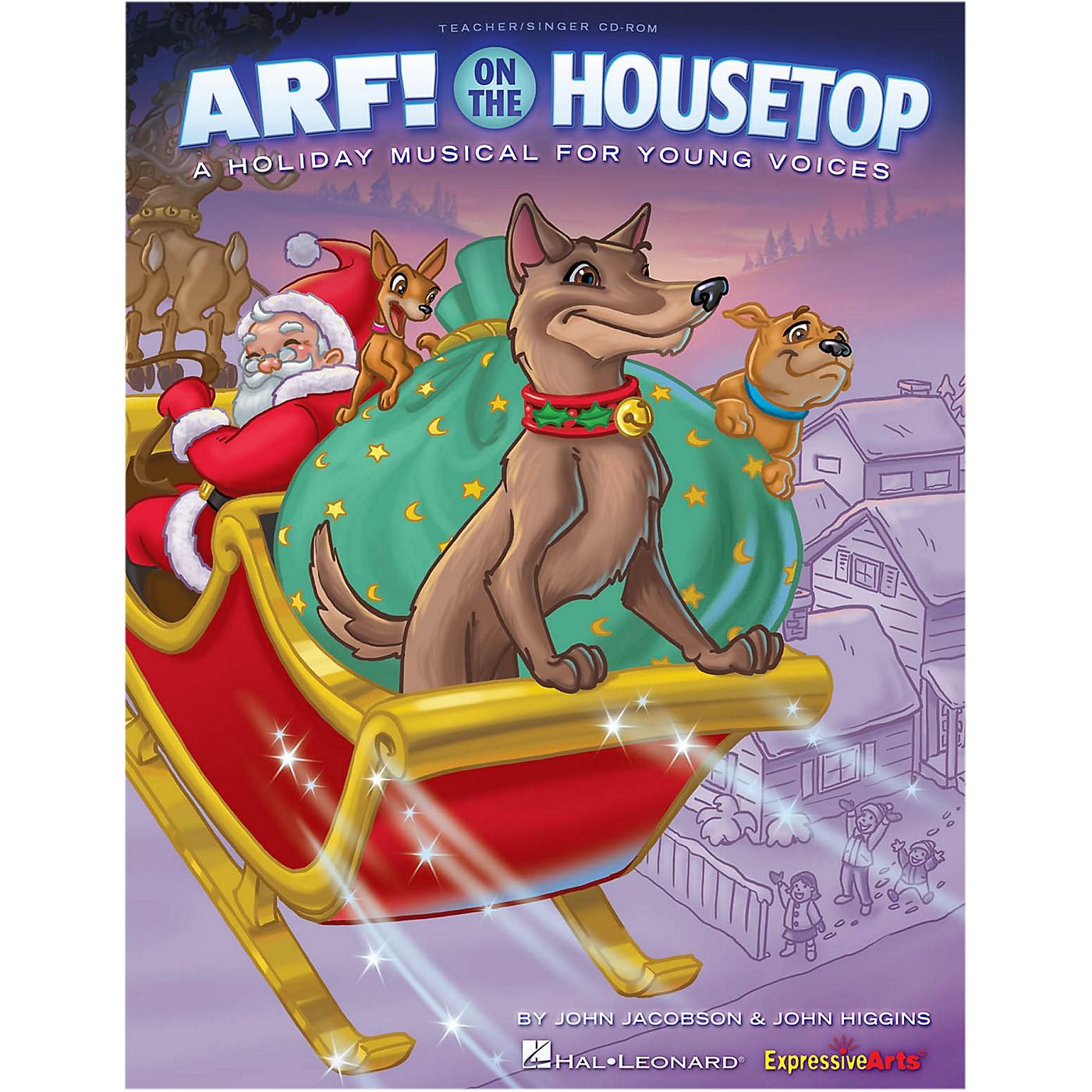 Hal Leonard Arf! On The Housetop Performance/Accompaniment CD thumbnail
