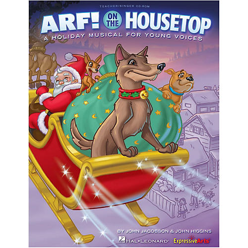 Hal Leonard Arf! On The Housetop Teacher/Singer CD-ROM thumbnail