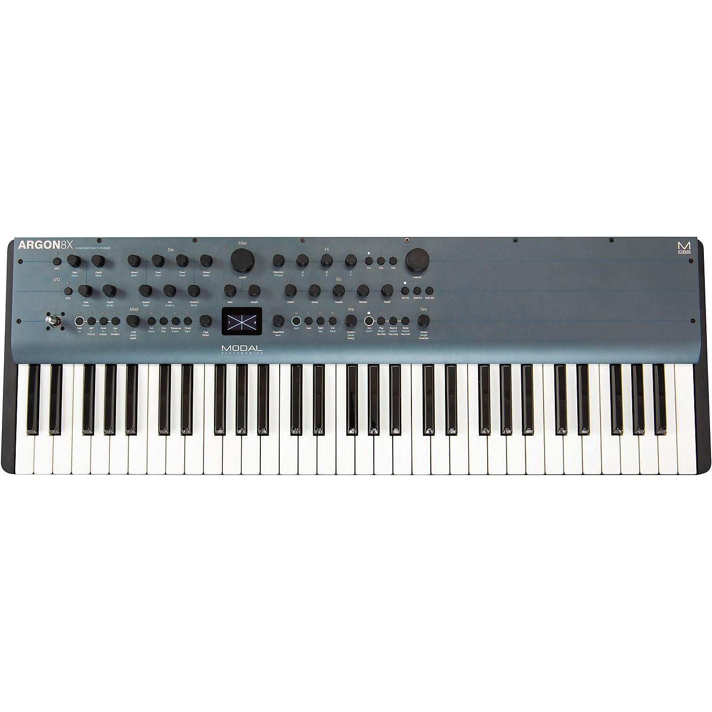 Modal Electronics Limited Argon8X 61-Key 8-Voice Polyphonic Wavetable Synthesizer thumbnail