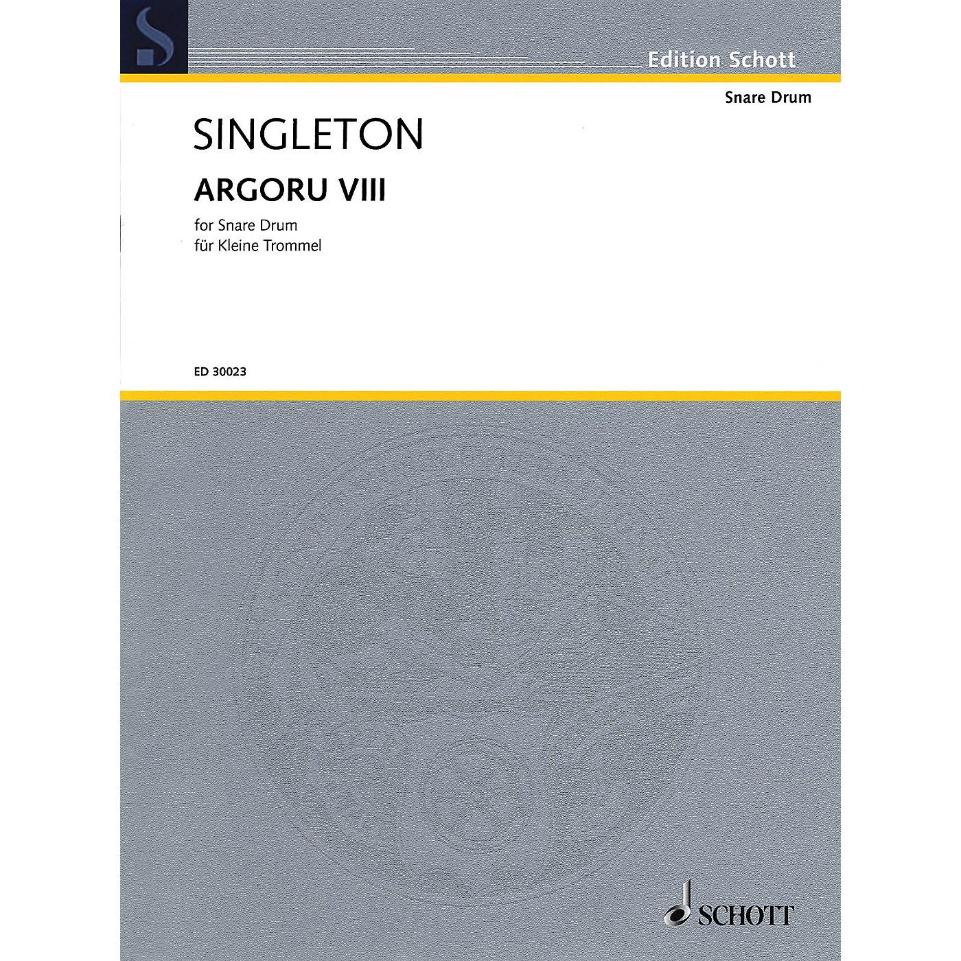 Hal Leonard Argoru VIII for Snare Drum Percussion Series thumbnail