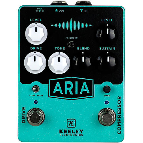 Keeley Aria Compressor Overdrive Effects Pedal thumbnail