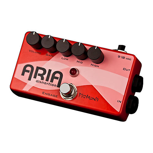 Pigtronix Aria Overdrive Guitar Effects Pedal-thumbnail