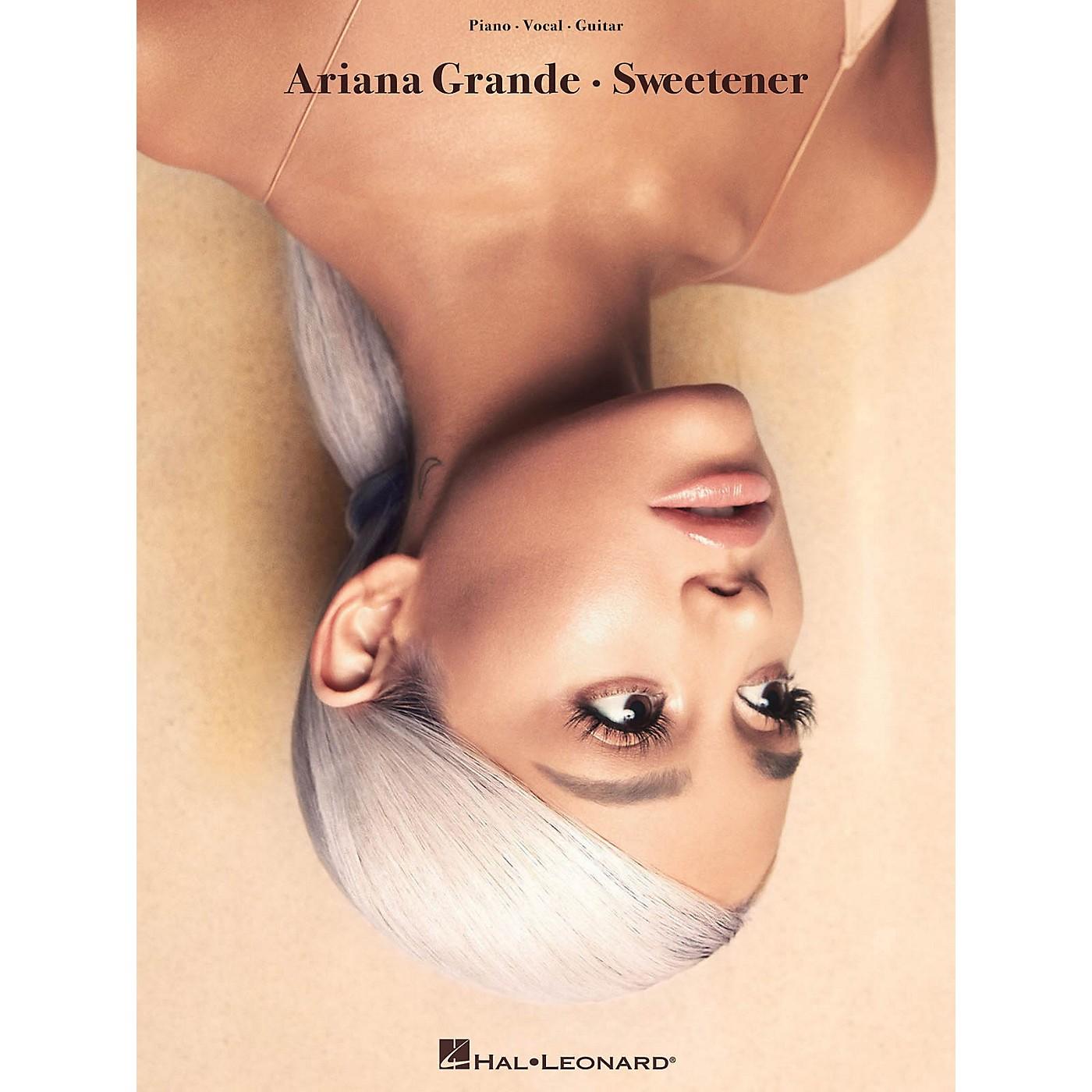Hal Leonard Ariana Grande - Sweetener Piano/Vocal/Guitar Songbook thumbnail