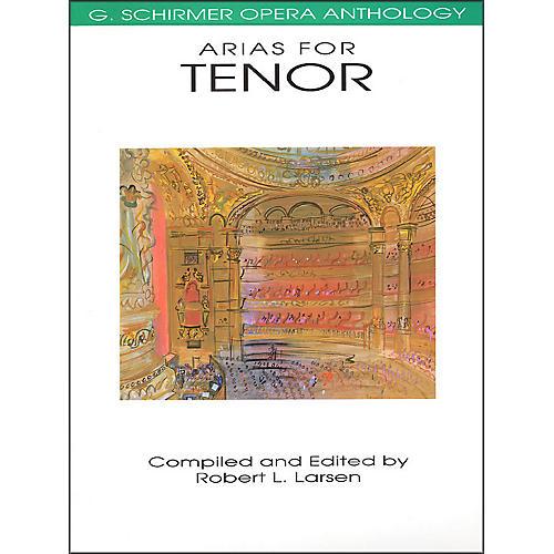 G. Schirmer Arias for Tenor G Schirmer Opera Anthology thumbnail