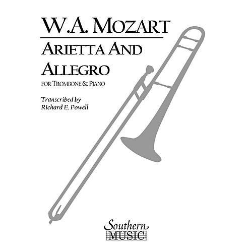 Southern Arietta and Allegro, K109b/8 K3 Southern Music Composed by Mozart Arranged by Richard Powell thumbnail