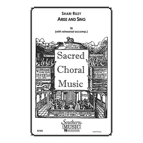 Hal Leonard Arise And Sing (Choral Music/Octavo Sacred 2-part) TB Composed by Riley, Shari thumbnail