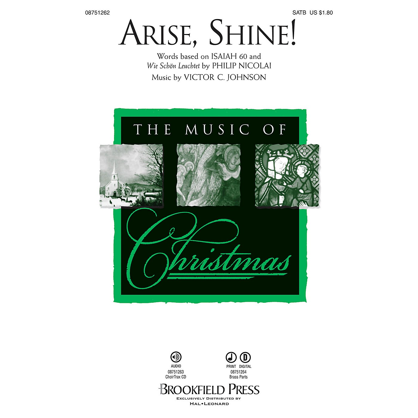 Brookfield Arise, Shine! Brass Accompaniment Composed by Victor C. Johnson thumbnail