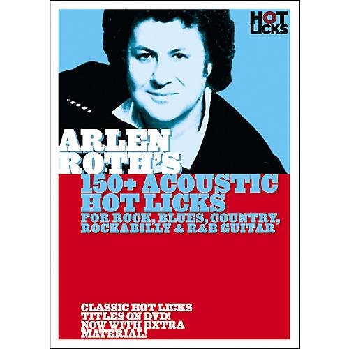 Hot Licks Arlen Roth: 150+ Acoustic Hot Licks DVD thumbnail