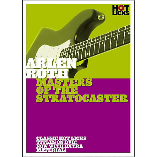 Hot Licks Arlen Roth: Masters of the Stratocaster DVD thumbnail