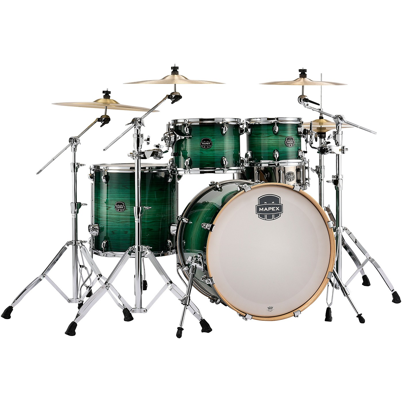 Mapex Armory Series Exotic Rock 5-Piece Shell Pack with 22 in. Bass Drum thumbnail