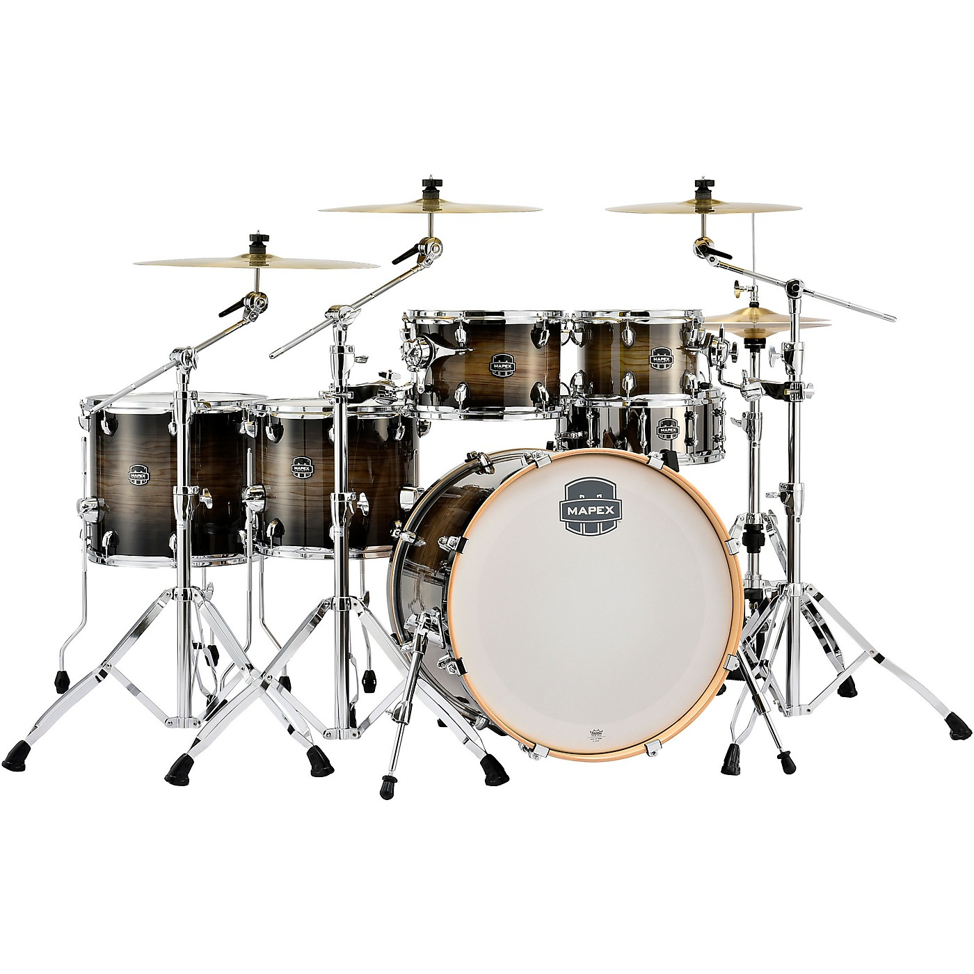 Mapex Armory Series Exotic Studioease Fast Shell Pack with 22 in. Bass Drum thumbnail