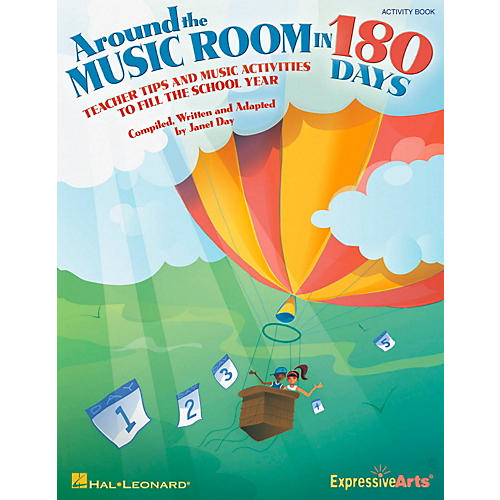 Hal Leonard Around The Music Room In 180 Days - Teacher Tips and Music Activities to Fill the School Year thumbnail